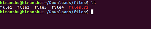 сохранение архива 7z